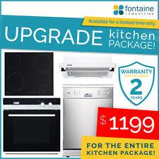Salini Upgrade Kitchen Package Oven Stove Dishwasher Rangehood Modern NEW