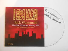 RICK WAKEMAN : THE SIX WIVES OF HENRY VIII [ DVD ALBUM PROMO PORT GRATUIT ]