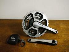 NEAR MINT SRM 11 SPEED 9000 DURA ACE CHAINSET 175 53/39 WITH MINT SR8 AND BOX