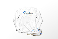 Crenshaw T-Shirt to Match Air Jordan 3 Retro Valor Blue Unc Pro Club