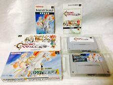 Lot 2 Chrono Trigger & Tales Of Phantasia Super Famicom Snes Sfc Boxed