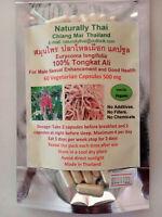 Naturally Thai - Organic Tongkat Ali - 500mg x 60 Capsules - Eurycoma longifolia