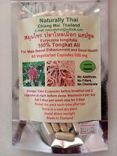 Naturalmente Thai-Orgánico Tongkat Ali - 500mg X 60 Cápsulas-eurycoma longifolia