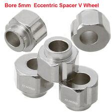 5Pcs 5mm Bore Eccentric Spacer V Wheel For Aluminum extrusion 3D printer Reprap