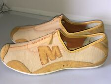 Merrell Women's Leather/Textile Shoes Size 5.5/38.5 Mustard in Perfect Condition