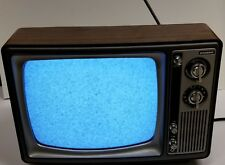 Vintage 1980 11 Inch Slyvania Television TV Set-Retro Works Very Nicely!