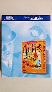 Sherlock Holmes: The Case of the Rose Tattoo (PC WINDOWS 1993) - Big Box Edition