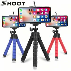 SHOOT Mini Flexible Sponge Octopus Tripod for Smartphone & Gopro 9 8 7 Came