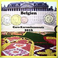 Belgien Euro KMS 2016 Organisation Child Focus Stgl 1 Cent bis 2 Euro Sondersatz