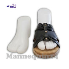 Female Foot mannequins Pair of Right & Left Feet White Foot Mannequin Form