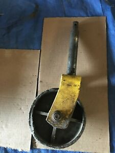 """John Deere 425 445 455 Mower Deck 60"""" Front axle and wheel"""