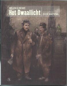 Beeldroman Het Dwaallicht van Willem Elsschot door Dick Matena stripboek