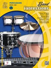 Band Expressions - Percussion Book 1