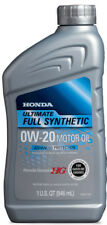 Genuine Honda Ultimate Full Synthetic 0W-20 Motor Oil - Case of 12 - 08798-9037