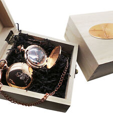 FRANK SINATRA Signed Rose Gold POCKET WATCH Wood Gift Box Autographed RAT PACK