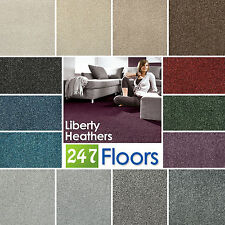 Carpet Liberty Heathers Carpets - Stain Resistant Twist Feltback - ONLY £5.39m²
