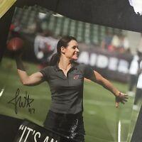 Jen Welter Autographed Arizona Cardinals 8x10 Photo Gameday Hologram
