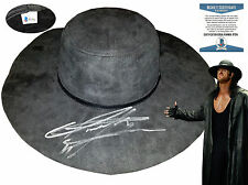 WWE The Undertaker Autographed Replica Hat SUPER RARE Beckett W-COA