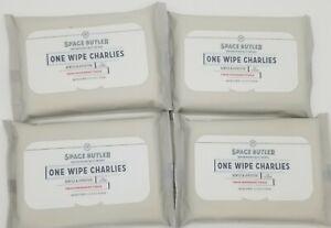One Wipe Charlies Refreshing Butt Wipes 4 Packs Of 25 Ea Fresh Peppermint Tingle