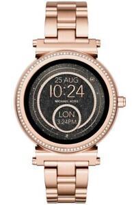Michael Kors Access Women's Sofie Rose Gold Glitz Touchscreen SmartWatch MKT5022