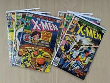 Uncanny X-Men Full Run #123 #124 #125 #126 #127 #128 Bronze Age Marvel Lot