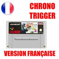 Cartouche Repro Chrono Trigger en version Français Super Nintendo SNES PAL