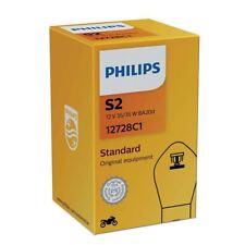 S2 Philips Vision Moto 35/35W 12V Lampadine Fari Alogeni 12728C1 Single