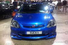 VIS 02-05 Civic Si 3D Carbon Fiber Hood TECHNO R EP3