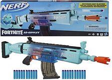 Nerf Fortnite AR Rippley Blaster Motorized 20 Elite Darts Toy Gift Game Gun Play
