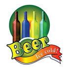 Food Truck Decals Beer Concession Restaurant Die-Cut Vinyl Sticker X20