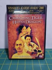 Crouching Tiger, Hidden Dragon (Dvd, 2001, Special Edition) Free Shipping