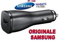 CARICABATTERIA DA AUTO SAMSUNG ORIGINALE GALAXY S5 NOTE 3 S4 S3 N9000 P10CBE   .
