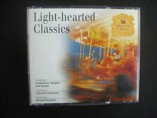 """LIGHT-HEARTED CLASSICS"" ~READER'S DIGEST DISCOVERING THE CLASSICS ~SET OF 3 CDS"