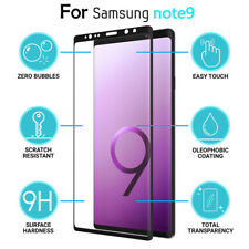9H Full Cover Curved Tempered Glass Screen Film Protector For Samsung Note 9