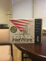 NOVELL NETWARE 4.1 FOR 2 USERS LICENSE DISKETTE NFR SFT III. DISKs