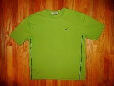 Nike, Large Short Sleeve Men's Shirt, Green, Nice (photo # 3806)