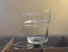 Clear Glass Flower Pot Votive Candle Holders Set of 12