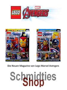 LEGO Marvel Avengers Magazine Ausgabe inkl. Zubehör - Wählen sie ihre Ausgabe!