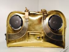 Beat Generation Groove Master 2.0 XPA Rocksteady Retro Speaker Gold Bag Life Pod