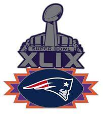 Official NFL Super Bowl Superbowl 49 XLIX New England Patriots Pin