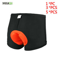 Mens Cycling Underwear Shorts MTB Road Bike Padded Inner Short Pants Elastic