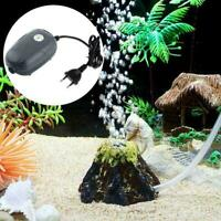 Ultra Silent 3W / 5W Aquarium Luftpumpe Aquarium Boost Sauerstoffpumpe Aqua T1Z1