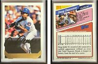 Doug Dascenzo Signed 1993 Topps #211 Card Chicago Cubs Auto Autograph