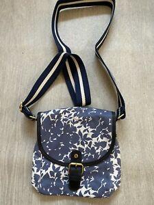 Boden grey pattern Print small shoulder bag  NEW