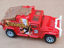 2012 Matchbox 00 HUMMER H1 100/120 MBX Island LOOSE Red