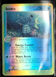 Pokemon Card Seadra (EX Dragon) 39/97 Reverse Holo Uncommon Lightly Played