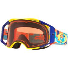 NEW Oakley Mx Airbrake Thermo Camo Orange Blue Prizm Motocross BMX MTB Goggles