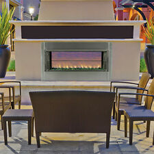 SUPERIOR VRE 4500 OUTDOOR GAS FIREPLACE -VENT FREE SEE THROUGH