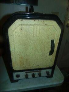 1937 Eureka tabletop electric range oven AHW-116 Works