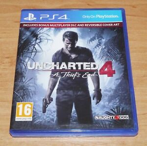 Uncharted 4 A thief's end Game for Sony PS4 Playstation 4